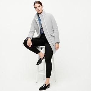JCrew Cocoon coat, Heather Dusk, Size 0